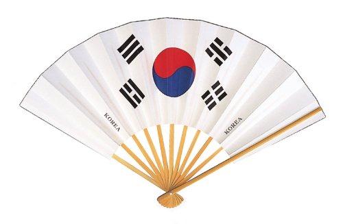 国旗扇子 韓国