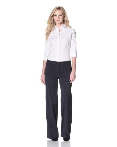 Armani Collezioni Women's Classic Pinstripe Pant