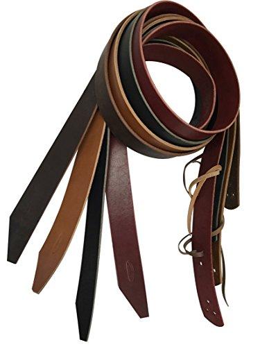 Buckaroo Leather Products California Latigo Cinch Tie Strap (Black, 2 Inch) (California Ties compare prices)