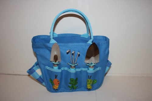 Kid'S Garden Tote & Tool Set (Pink Or Blue) front-606944