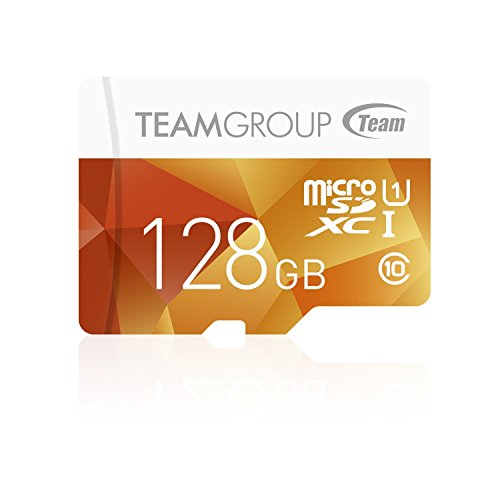 Team Micro SDHC/SDXC UHS-1 COLOR CARDシリーズ (128GB)