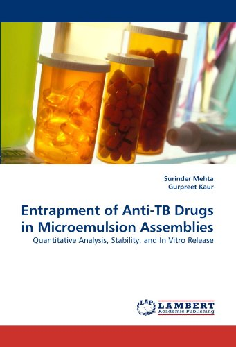 Entrapment of Anti-TB Drugs in Microemulsion Assemblies: Quantitative Analysis, Stability, and In Vitro Release PDF