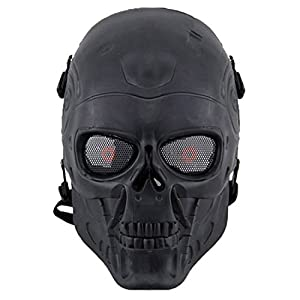 Bingxay Face Protect Army Skull Warrior Armor Mask Skeleton Cs Protective Mask from Bingxay