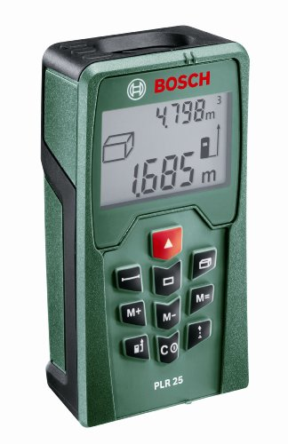 Bosch Laser Measure - PLR 25 Distance Range Finder