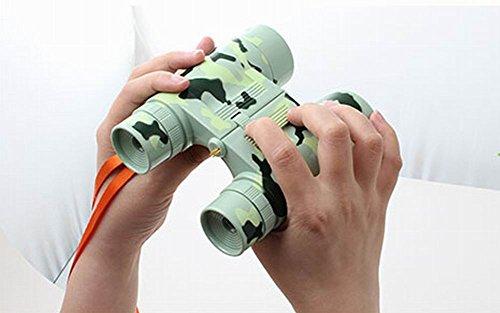 Kids Toy Binoculars Telescope Science Explore Educational Toys, Camouflage
