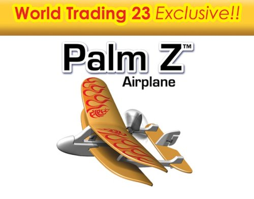 Buy World Trading 85659IR-YEL 23 Palm Z Remote Controlled Airplane – Yellow