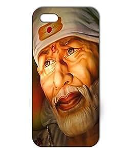 La Monstro Designer Back Cover Case Saibaba for White Iphone 5/5s
