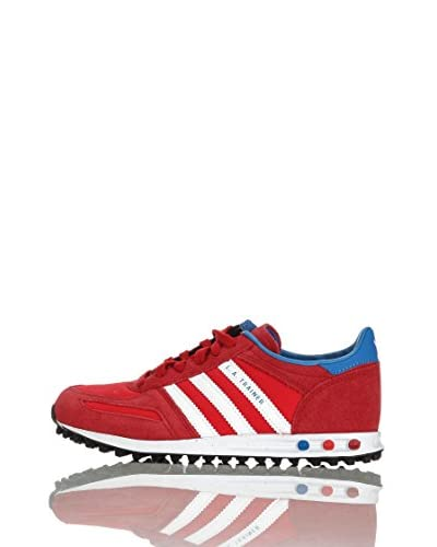 adidas Sneaker L.A. Trainer K [Rosso/Bianco]