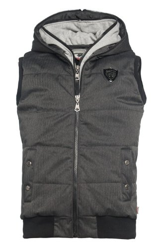 Lonsdale London -  Gilet  - Uomo marl grey (1004) Large