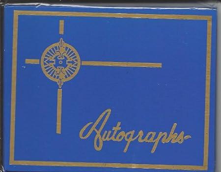 Autograph Book (BLUE) - 4.75