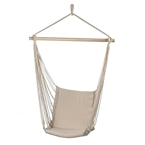 Amazon.com : Malibu Creations Cotton Padded Swing Chair ...
