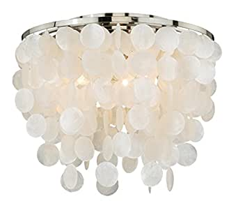 Share facebook twitter pinterest 1 new from 398 75 for Shell ceiling light fixtures