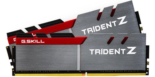 G.SKILL 32GB (2 x 16GB) TridentZ Series DDR4 PC4-24000 3000MHZ 288-Pin DDR4 SDRAM Desktop Memory Model F4-3000C14D-32GTZ