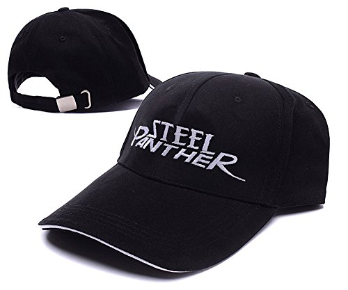 HAISHEN Steel Panther Band Logo Adjustable Baseball Caps Unisex Snapback Embroidery Hats (British Invasion Steel Panther compare prices)