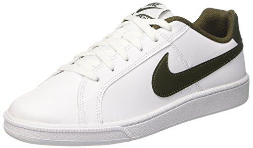 Nike Court Royale Scarpe da Ginnastica, Uomo, Bianco (White/Cargo Khaki), 42