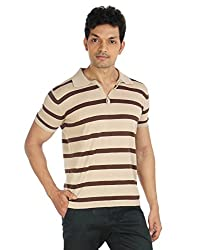 Silver Spring Brown Super Combed Cotton T Shirt _ RVD022_M