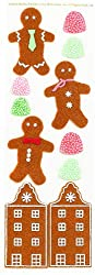 Martha Stewart Crafts Gingerbread Felt Stickers