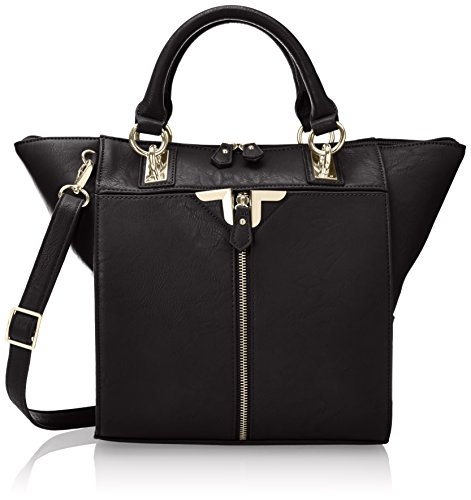 Danielle Nicole Alexa Tote Top Handle Bag,Black,One Size