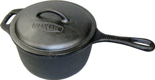 3-qt. Saucepan with Lid (Cast Iron Sauce Pans compare prices)
