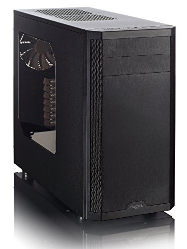 FRACTAL Design Core 3500 No Power Supply ATX Mid Tower Case FD-CA-CORE-3500-BL-W, Black (Fractal Design Water Cooler compare prices)