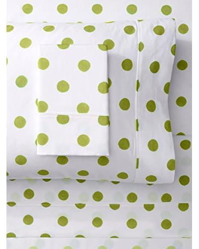 Mélange 400 TC Cotton Watercolor Dots Sheet Set