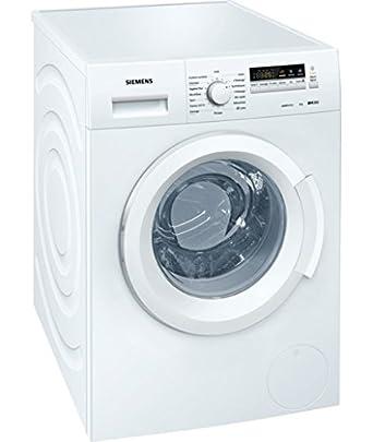 Siemens WM12K260FF Autonome 8kg 1188tr/min A+++ Blanc Front-load machine à laver - machines à laver (Autonome, Charge avant, A+++, A, B, Blanc)