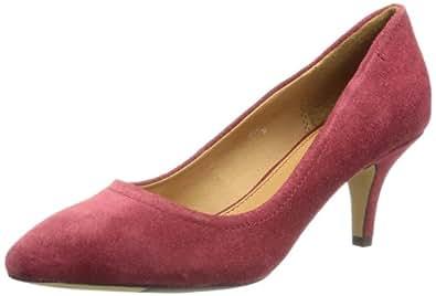 ESPRIT  Dania Med Pump, escarpins femme - Rouge - Rot (maroon red 615), 40 EU