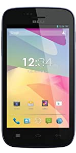 BLU Advance 4.0 Unlocked Dual SIM Phone (Black)