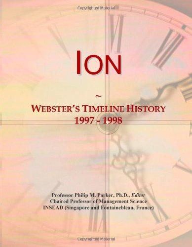 Ion: Webster'S Timeline History, 1997 - 1998