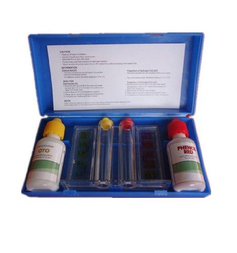 2-way Pool Spa Jacuzzi Hot Tub Chlorine Ph Chemical Level Test Kit (Hot Tub Chemical Testing Kit compare prices)