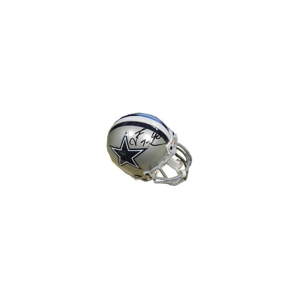 Troy Aikman Autographed Mini Helmet   Autographed NFL Mini Helmets