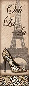 Travel in Style I  mini Fashion Art Print Poster by Todd