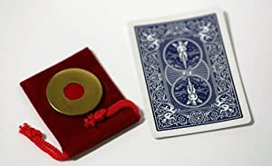 Ultimate Blue Bicycle Shim Card with Ultimate Lethal Tender - Any Coin Edition