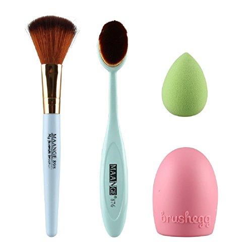 ihrkleid-maquillage-cosmetic-blush-poudre-pour-le-visage-brosse-a-dents-curve-foundation-brush-set-b