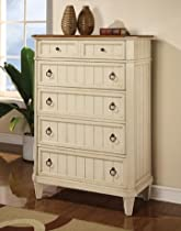 Big Sale Wynwood Garden Walk Drawer Chest in Latte