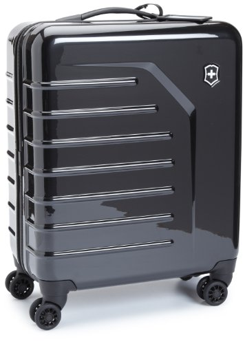 Victorinox Luggage Spectra Extra Capacity Carry-On Luggage, Black, 22 B0058ZQGQE
