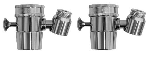 Kwik Sip Original Brass Faucet Fountain (Set of 2) Model: KS-001B-SI