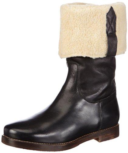 Manas Womens STIVALE DONNA Boots Black Schwarz (NERO+NERO) Size: 8 (41 EU)
