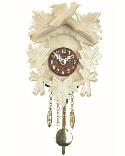 Black Forest Clock with cuckoo TU 20 P natur