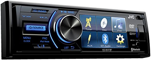 jvc-kd-av41bt-3-single-din-car-receiver-with-bluetooth-dvd-usb-remote-and-iphone-control