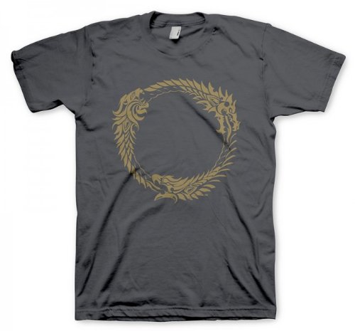 level-up-wear-herren-the-elder-scrolls-online-t-shirt-ouroboros-size-m