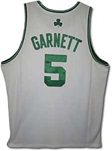 Kevin Garnett Boston Celtics Authentic Home White NBA Adidas Jersey (Unsigned) by adidas