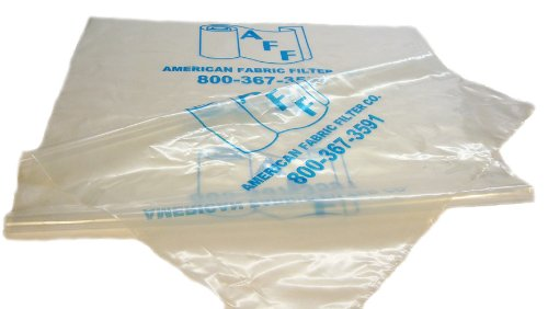 AFF AFF24-1/2DX72L-5 Six Mil Clear Disposable Dust Collection Bags to Fit Delta, Jet and Other 22-Inch - 24.5-Inch Diameter Dust Collectors