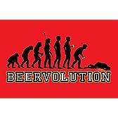 BEERVOLUTION/人類の進化(ビールバージョン)《PPS-095》ポスター