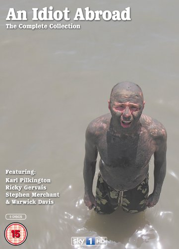 An Idiot Abroad   The Complete (5 Dvd) [Edizione: Regno Unito]