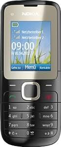 """Nokia C2-00 - Móvil libre (pantalla de 1,8"""" 128 x 160, 16 MB de capacidad) color negro [importado de Alemania]"""