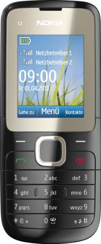 Nokia C2-00 Dual SIM Sim Free Mobile Phone - Black Black Friday & Cyber Monday 2014