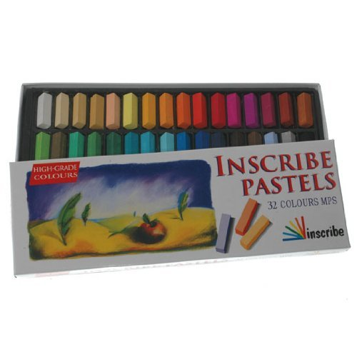 Inscribe Soft Pastel Set - 32 Colours [Toy]