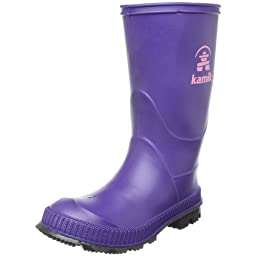 Kamik Stomp Rain Boot (Toddler/Little Kid/Big Kid),Plum,12 M US Little Kid