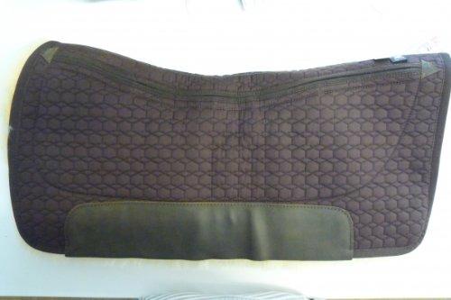Mattes Westernpad Square Pad komplett Lammfell mit Eintaschen-Correction-System Größe: Long